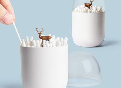 Objets design - Porte-bourgeons en coton d'hiver: Iceberg Bathroom Collection: Matériaux respectueux de l'environnement 100% recyclable - QUALY DESIGN OFFICIAL