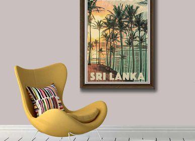 """Affiches - Poster Sri Lanka """"Un parfum de Ceylon""""- Collection Vintage d'affiches Sri Lanka - MY RETRO POSTER"""