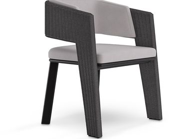 Lawn chairs - GALEA  DINING CHAIR - LUXXU