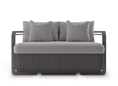 Lawn sofas   - HAMPTON  TWO SEAT SOFA - LUXXU