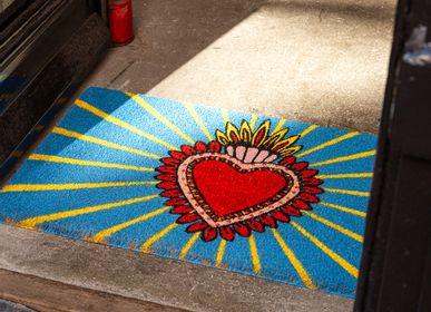 Decorative objects - MIlagro Heart Doormat  - KITSCH KITCHEN