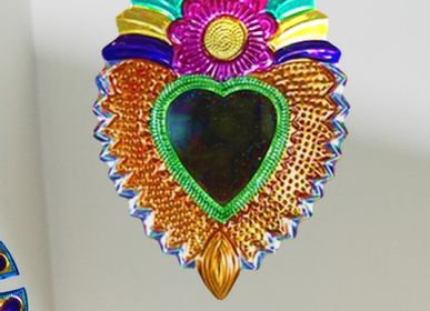 Decorative items - Mirror small sacred heart - TIENDA ESQUIPULAS