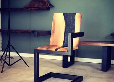 Chaises - Fauteuil Jimmy Artwood - JIMMY ARTWOOD