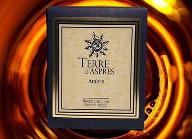 Decorative objects - Amber Candle - TERRE D'ASPRES BY TERRE D'ORIA