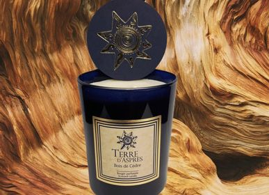 Gifts - Cedar Wood Candle - TERRE D'ASPRES BY TERRE D'ORIA