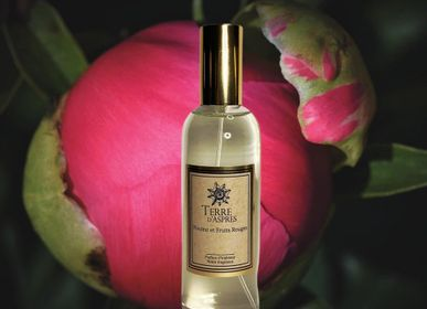 Home fragrances - Home Perfume Peony and Red Fruits - TERRE D'ASPRES BY TERRE D'ORIA