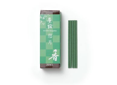 Home fragrances - KUNRO Sougetsu/Moon Reflection (20 sticks)  - SHOYEIDO INCENSE CO.