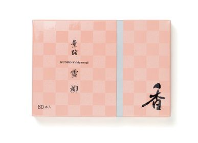 Home fragrances - KUNRO Yukiyanagi/Spring Blossoms (80 sticks) - SHOYEIDO INCENSE CO.