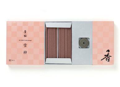 Spa - KUNRO Yukiyanagi/Fleurs de printemps (80 bâtons d'encens) - SHOYEIDO INCENSE CO.