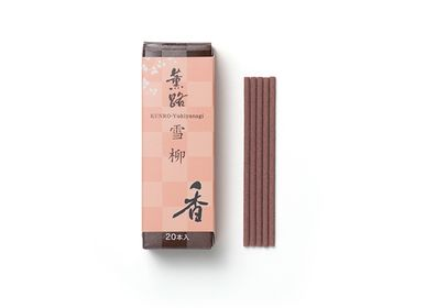 Spa and wellness - KUNRO Yukiyanagi/Spring Flowers (20 sticks) - SHOYEIDO INCENSE CO.