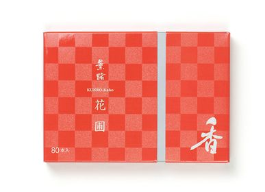 Home fragrances - KUNRO Kaho/Flower Garden (80 sticks) - SHOYEIDO INCENSE CO.