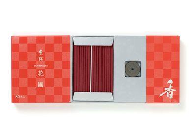 Aménagements pour bureau - KUNRO Kaho/Flower Garden (80 bâtonnets) - SHOYEIDO INCENSE CO.