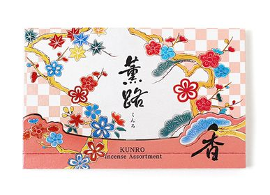 Home fragrances - KUNRO Assortment (20 sticks) - SHOYEIDO INCENSE CO.