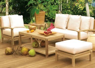 Tables de jardin - TABLE BASSE SAVANA - IL GIARDINO DI LEGNO