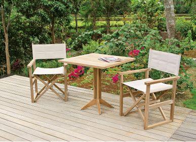 Tables de jardin - TABLES MACAO - IL GIARDINO DI LEGNO