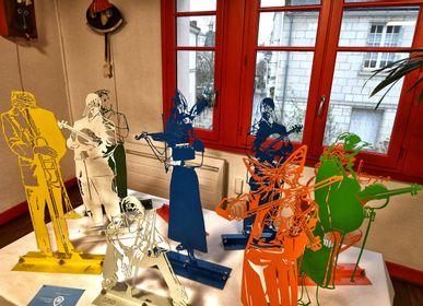 Sculptures, statuettes et miniatures - Sculpture Les Z'Animaux Musiciens - petits modèles - MICHEL AUDIARD