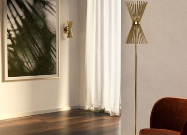 Chambres d'hotels - Lampadaire Halo - CASTRO LIGHTING