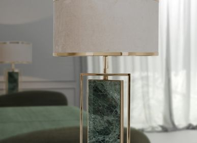 Chambres d'hotels - Lampe de table Petra - CASTRO LIGHTING