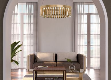 Chambres d'hôtels - Suspension Skylar - CASTRO LIGHTING