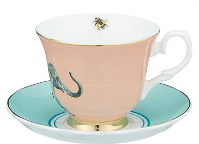 Mugs - Pair tea cup 28 cl - Elephant - YVONNE ELLEN