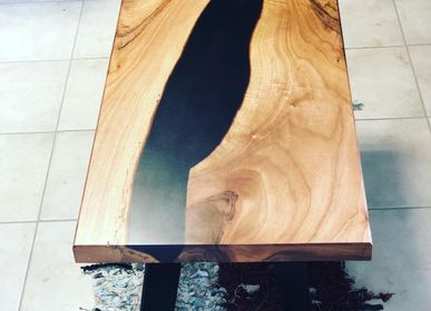 Coffee tables - Table basse Noyer des alpes  - JIMMY ARTWOOD