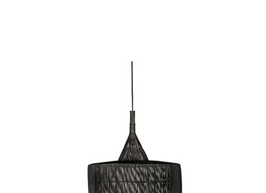 Hanging lights - Hanging lamp TET OSI L Black - DAREELS
