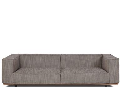 sofas - Sofa VIVALDI 240 Grey - DAREELS