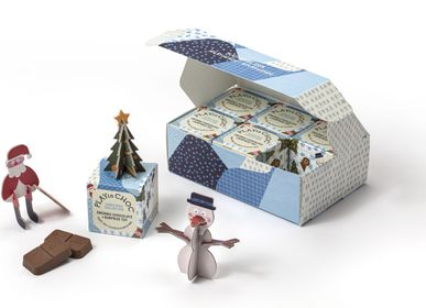 Jouets - Coffret cadeau de collection de Noël ToyChoc Box 6 - PLAYIN CHOC