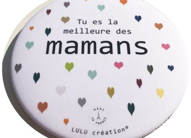 "Stationery / Card shop / Writing - Complete collection ""Family hearts"" made in France - LULU CREATION®"