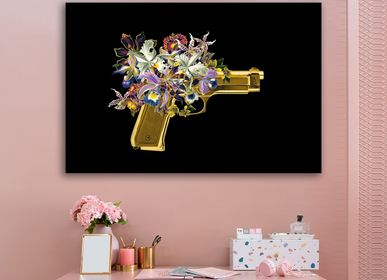 Wall decoration - MONDiART, AluArt, Flowergun - MONDIART ART & DECORATIONS