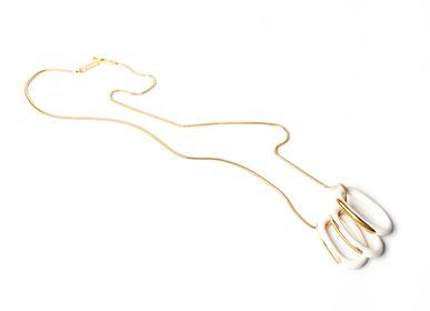 Bijoux - Chains Sautoir 3 maillons - CHRISTINE'S - HANDMADE DESIGNERS ACCESSORIES