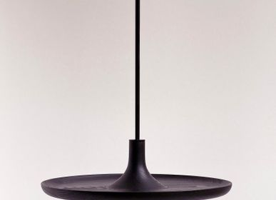Design objects - Spinning top shelf TOUPY - black bleached ash - MADEMOISELLE JO