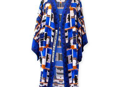 Apparel - Silk Kimono CELLES QUI ARTÉMISENT - CORALIE PREVERT PARIS