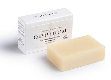 Soaps - SKINCARE SOAP NEUTRE ABSOLU  - OPPIDUM - COSMETIQUE NATURELLE