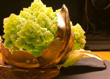 Design objects - lamp sculpture - ROMANESCO - PATRIZIA CORVAGLIA JEWELRY AND ART