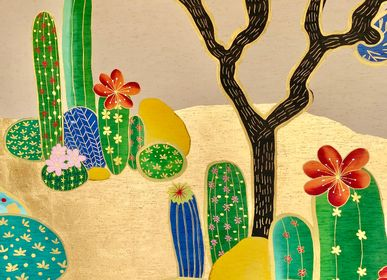 Papiers peints - Joshua Desert Papier peint - LALA CURIO LIMITED