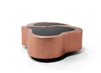Coffee tables - WAVE COPPER Center Table - BOCA DO LOBO