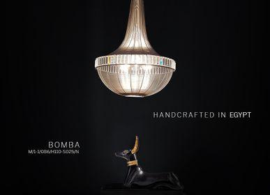 Decorative objects - BOMBA I Pendant lamp - MAZLOUM LIGHT