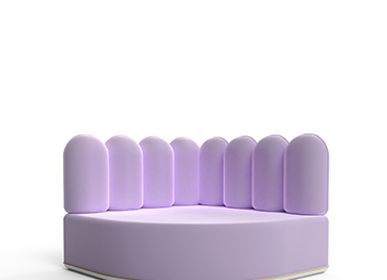Chambres d'enfants - COTTON CANDY SOFA - CIRCU