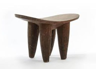 Tables basses - Tabouret Luba ou tabouret en bois - SUBLIME JUJU HAT