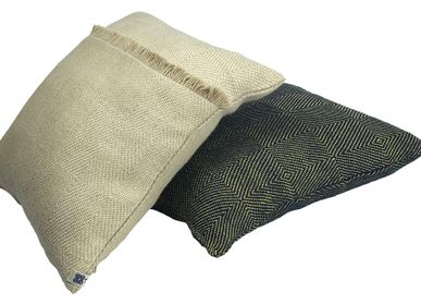 Coussinstextile - coussin carres - T'RU SUSTAINABLE HANDMADE