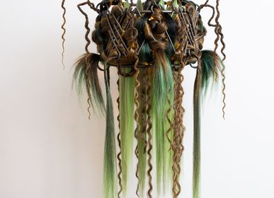 Decorative objects - ACOTINUM FEROX SUSPENDED LAMP - MICKI CHOMICKI HAIR BRUT