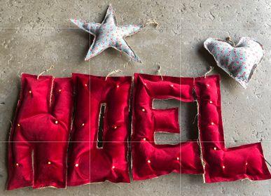 Guirlandes et boules de Noël - Décoration pour Noël et intemporelle  - ROSE VELOURS