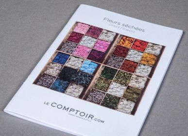 Creative hobbies - Dried flowers catalogue - LE COMPTOIR.COM