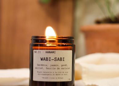 Bougies - Bougie végétale NO.11: Hanami Wabi-Sabi  - WABI-SABI