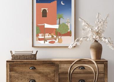 Poster - Vegetable Diffuser Wabi-Sabi NO.6 : Traveling to Seville - WABI-SABI