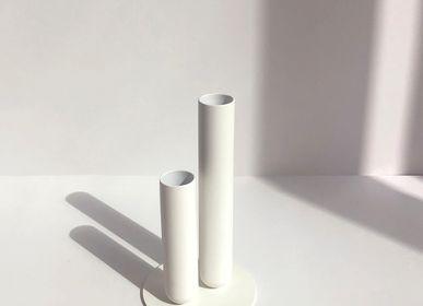 Vases - Vase SOLIFLORE - Blanc poudré - MADEMOISELLE JO
