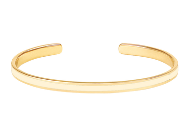 Bijoux - JONC 0,44 BANGLE BLANC SABLE - BANGLE UP