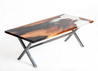 Coffee tables - Epoxy coffee table - L'ATELIER BIS