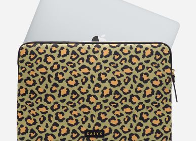 "Sport bags - Laptop sleeve Macbook 13"": Olive Leopard - CASYX"